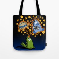 Candy the Magic Dinosaur Tote Bag