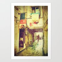 Postcards From A Better … Art Print