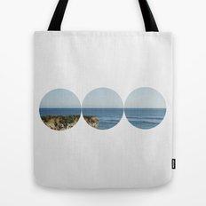 ROUND OCEAN Tote Bag