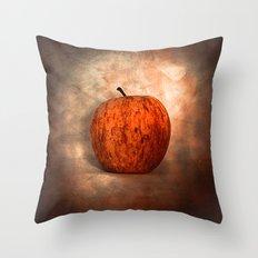 Once Upon an Apple Throw Pillow