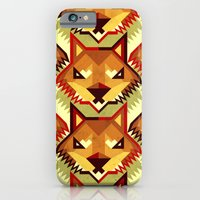 The Bold Wolf pattern iPhone 6 Slim Case