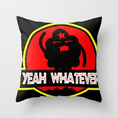 Adventure Time: Yeah, whatever: Jurassic LSP Throw Pillow