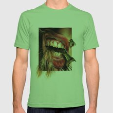 Animal Tomb  Mens Fitted Tee Grass SMALL
