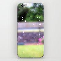 Raindrops.  iPhone & iPod Skin