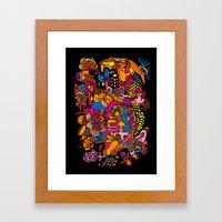 Puska Framed Art Print