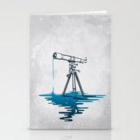 Liquid Universe Stationery Cards