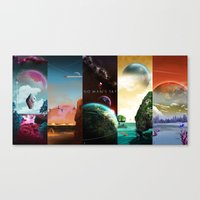 NMS - Series 1 Collection Canvas Print