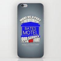 Bates Motel Advertisemen… iPhone & iPod Skin