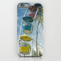 iPhone & iPod Case featuring Ferris Wheel by Mary Kilbreath