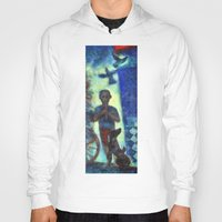 Hoody featuring Musician kid. by Nato Gomes