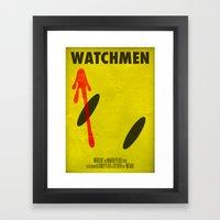 Watchmen - The Comedian Framed Art Print