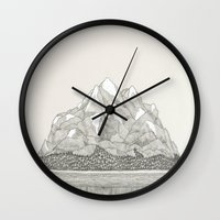 The Mountains And The Wo… Wall Clock