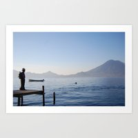 The Water Is The Same Art Print