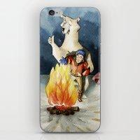 Smile honey! iPhone & iPod Skin