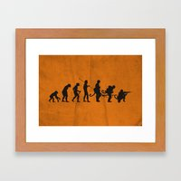 Involution! Framed Art Print