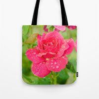 Rose After Rain Tote Bag
