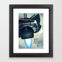 Back To The Future II Framed Art Print