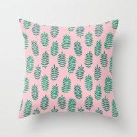 Pattern Project #42 / Ferns Throw Pillow
