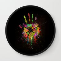 Artist Hand (1) Wall Clock