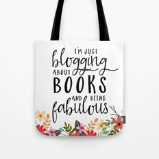 Blogging About Books Tote Bag