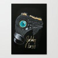 Golden Horn Canvas Print