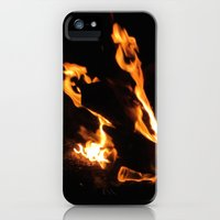 iPhone Cases featuring Burn This by Barrie K.