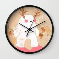 Wendigo Wall Clock