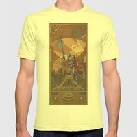 Violencia Robotica Mens Fitted Tee Lemon SMALL