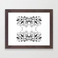 Rings 5 Framed Art Print