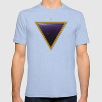 Space Frame Mens Fitted Tee Tri-Blue SMALL