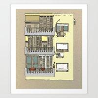 Building nr3 Art Print