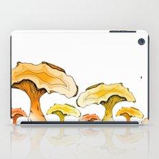 Chanterelle Mushroom, Hand drawn, Pen and Ink, Food, Nature iPad Case