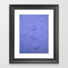 Pink Stars Framed Art Print