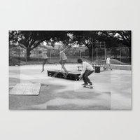 Skater Series #2 Canvas Print