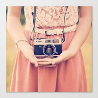 Canvas Print featuring Classic Rangefinder by Mandy_faith