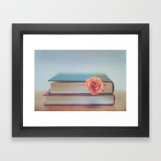 Summer Reading Framed Art Print