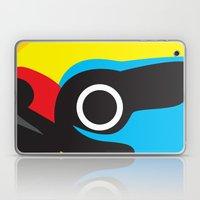 Black-browed Barbet Laptop & iPad Skin