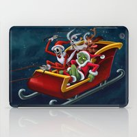 Christmas Hijackers iPad Case