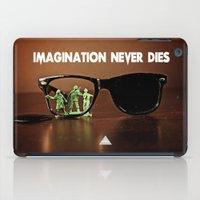 Imagination Never Dies iPad Case