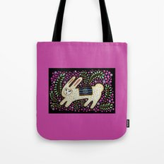 Rabbit in the Pink Tote Bag