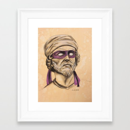 Donnie TMNT Framed Art Print