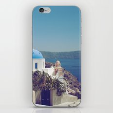 Santorini Door VI iPhone & iPod Skin