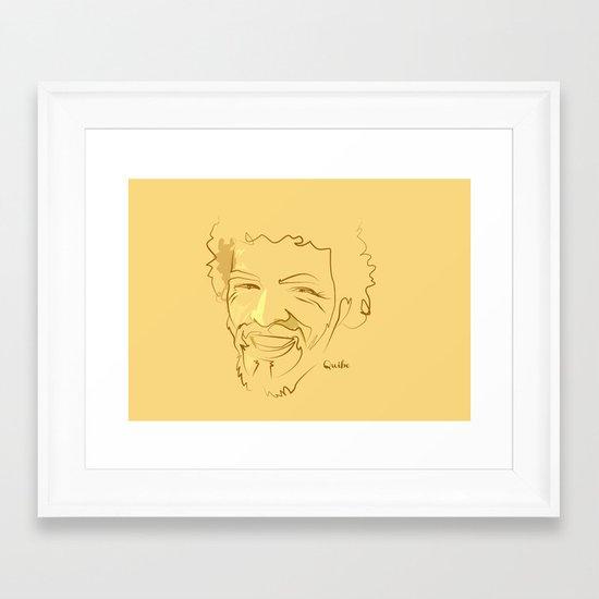 O Socrates Framed Art Print