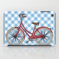 His Bicycle iPad Case
