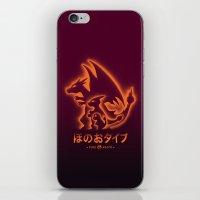 Mega Fire iPhone & iPod Skin