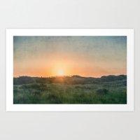 Barrier Island Sunrise Art Print