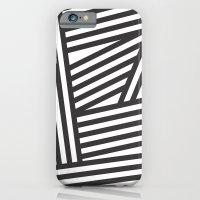 Black Stripes iPhone 6 Slim Case