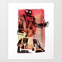 Child Of Tomorrow Art Print