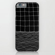 Hand Drawn Grid iPhone 6 Slim Case
