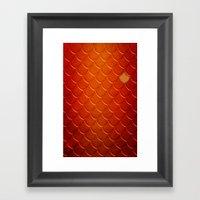 Smaug Framed Art Print